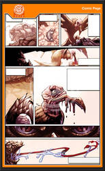Comic Page Wip by -adam-