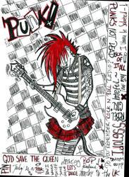 Punk's not dead. by Aldanax