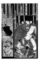 Ninja Bear page 1 pencils by JasonGodwin