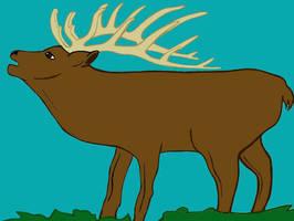 Elk Patch by karadarkthorn
