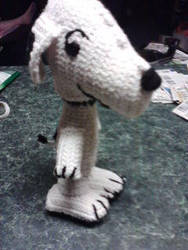Snoopy amigurumi by Sayzay