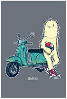 Yes. Another Yeti on a scooter by cronobreaker