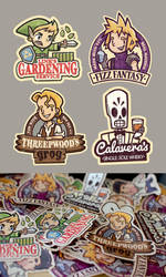 Gaming Stickers by cronobreaker