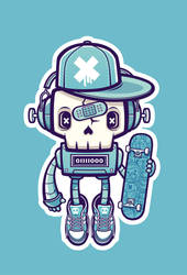 Skullbot by cronobreaker