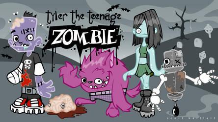 Tyler the Teenage Zombie by cronobreaker