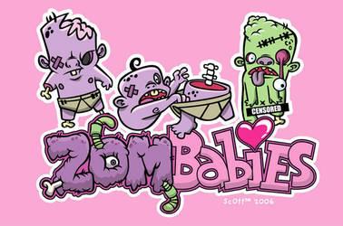 Zombabies by cronobreaker