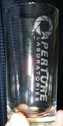Aperture Labratories glass by nekomatafuyu