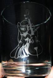 Octavia with Double Bass glass by nekomatafuyu