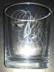 Wild Fire mixer glass by nekomatafuyu