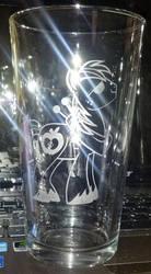 Big Mac pint glass by nekomatafuyu