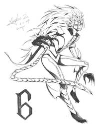 Espada 6: Grimmjow by iheartsonic