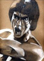 Bruce Lee by CypherOne