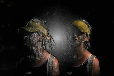 Double Portrait M by Bobbyus