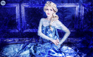Frozen Elsa cosplay by EveGeist