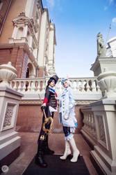 Hajime and Shun by EveGeist