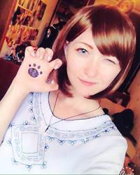 Dobutsu sentai Zyuohger Amu cosplay in start by EveGeist
