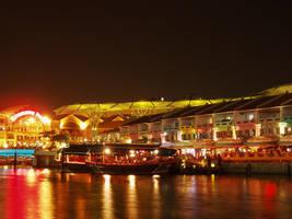 Clarke Quay by yuzukko