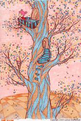 Old Twisted Tree by yuzukko