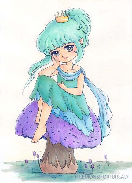 Toadstool Princess by yuzukko