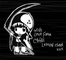 Chibi Lemon-chan Shinigami by yuzukko