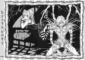 DEATHNOTE: misa x remu by yuzukko