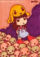 No Monster Rabbit by yuzukko