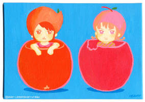 2 Fruits by yuzukko