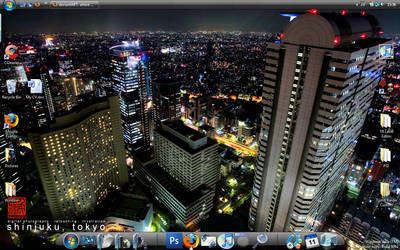 Desktop Background - Tokyo by Dephilis