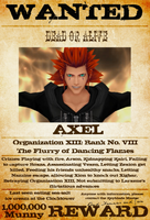 Wanted: Axel by gttorres