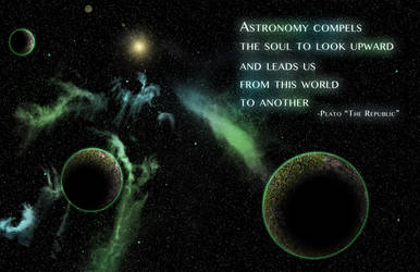 Astronomy Compels Us by k10Photo