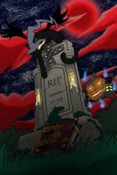 :Collab: Halloween 2013 by GuardianOfTheFlame