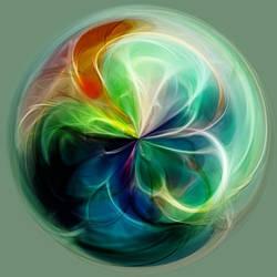 a ball of light by Keisyuu