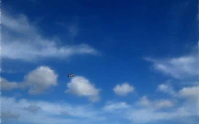 across the clouds by Keisyuu