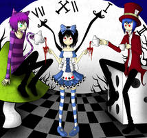 Alice in wonderland by ren-danny