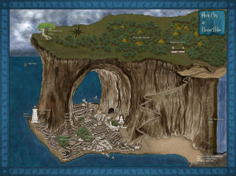 Arch City of Nessa'Mor by Starcave