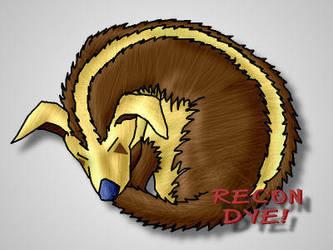 Sleeping Rocky by ReconDye