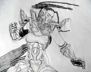 Master Raven by TekkieBrek