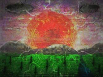 Acid Sunrise by rabidcentipede