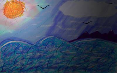 Sea by rabidcentipede
