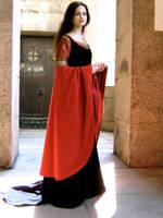 Arwen's BloodRed Gown by Farothiel
