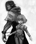 Nightmare and Iris by knighthead