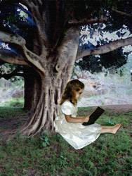 Reading by caiphana