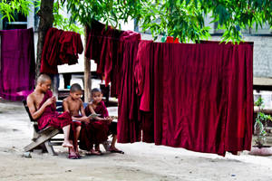 Monks Reading by 4pm