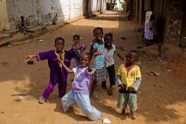 Gambian Street Kids by 4pm
