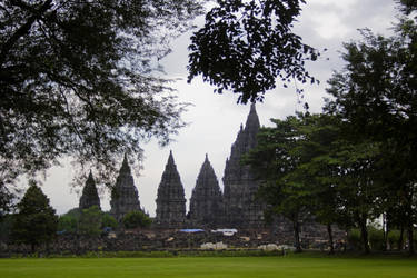 Prambanan Temple Complex by 4pm