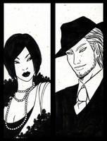 Mrs and Mr Leone by Rakiah