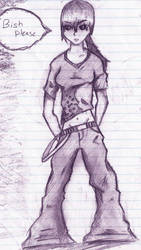 Kristina sketch by cooljcapya