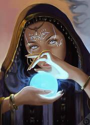Sorceresses Magic by LeoNealArt