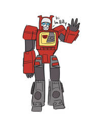 Billy is my favorite autobot by zenikat