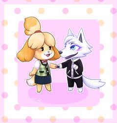 Isabelle + Nick by zenikat